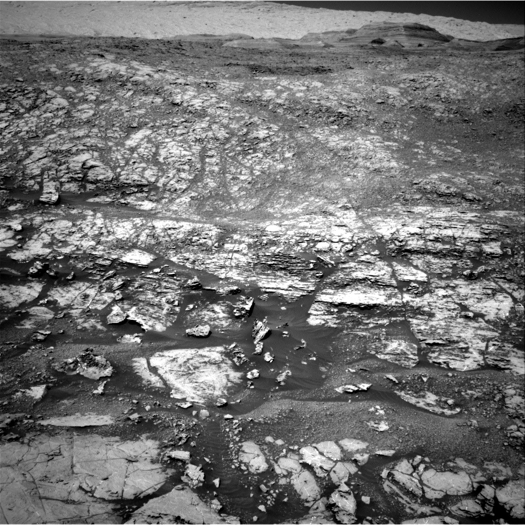Nasa's Mars rover Curiosity acquired this image using its Right Navigation Camera on Sol 1869, at drive 2312, site number 66
