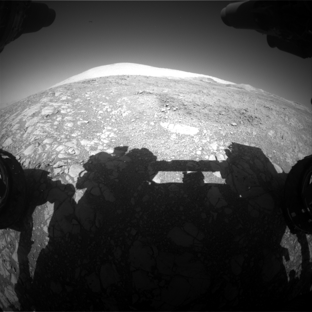 Nasa's Mars rover Curiosity acquired this image using its Front Hazard Avoidance Camera (Front Hazcam) on Sol 1871, at drive 2414, site number 66