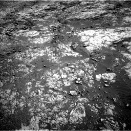 Nasa's Mars rover Curiosity acquired this image using its Left Navigation Camera on Sol 1871, at drive 2360, site number 66