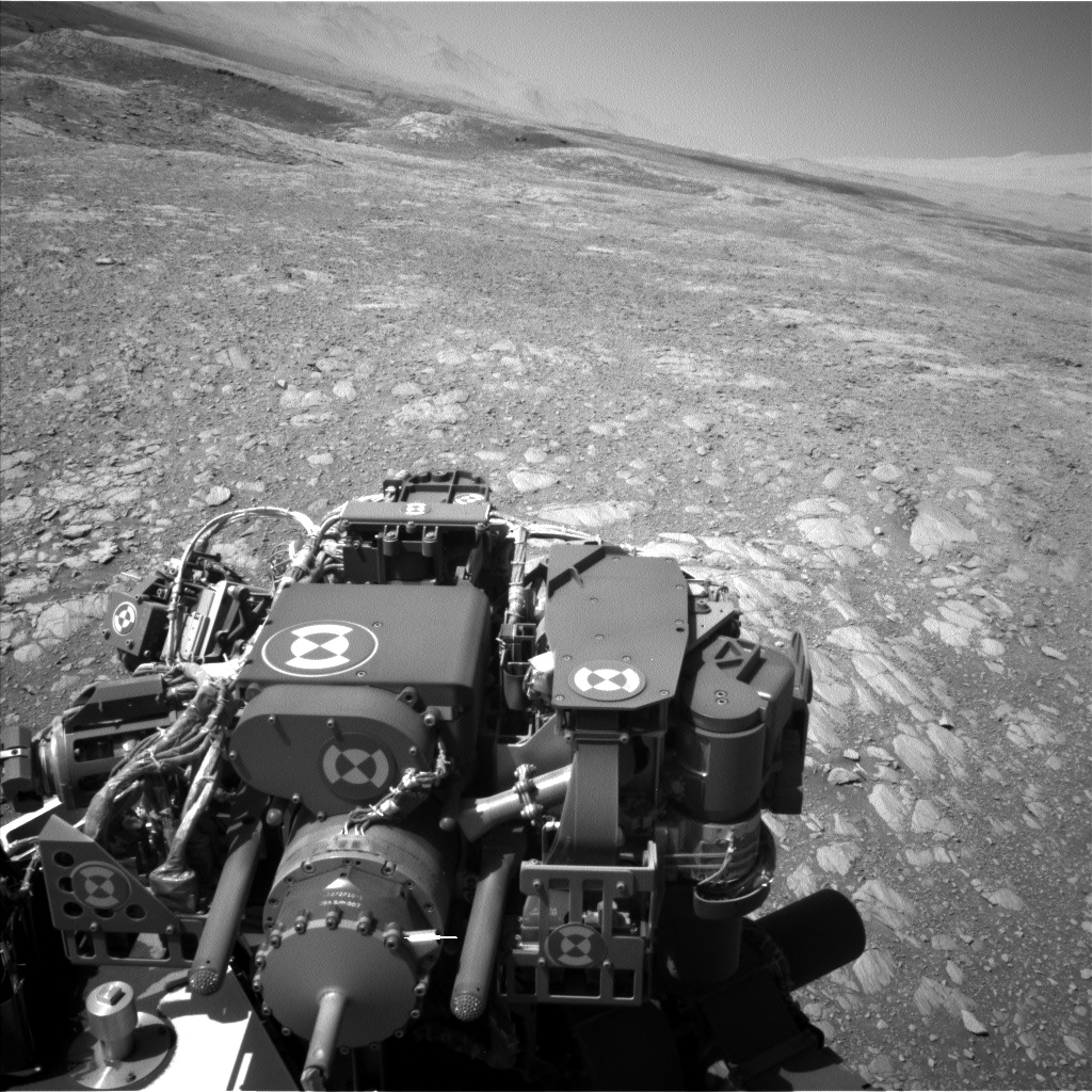 Nasa's Mars rover Curiosity acquired this image using its Left Navigation Camera on Sol 1871, at drive 2414, site number 66