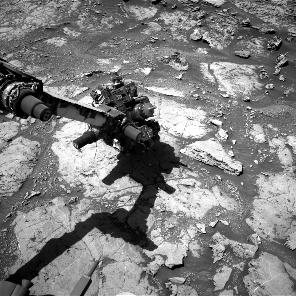 Nasa's Mars rover Curiosity acquired this image using its Right Navigation Camera on Sol 1871, at drive 2312, site number 66
