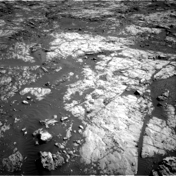 Nasa's Mars rover Curiosity acquired this image using its Right Navigation Camera on Sol 1871, at drive 2348, site number 66