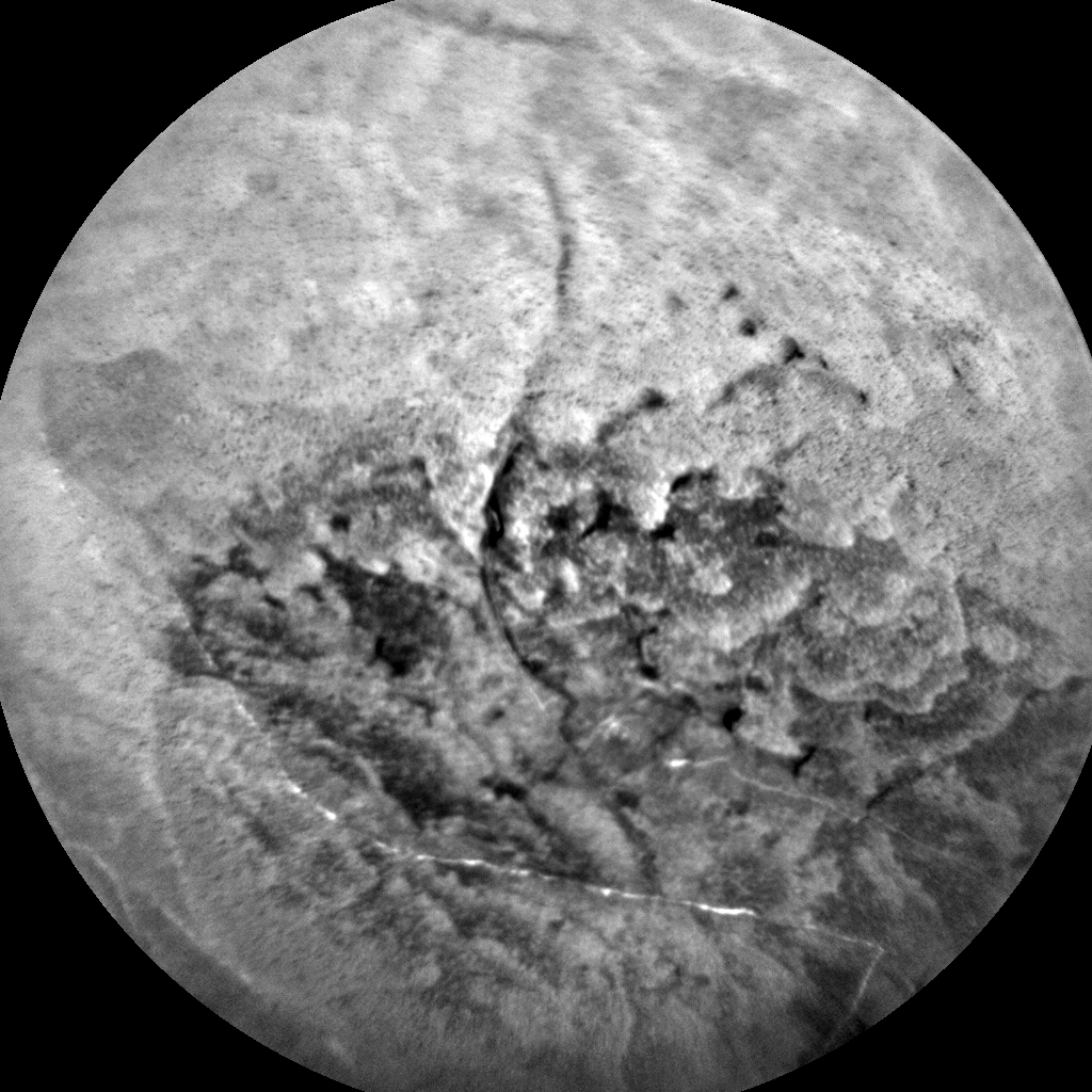 Nasa's Mars rover Curiosity acquired this image using its Chemistry & Camera (ChemCam) on Sol 1871, at drive 2312, site number 66