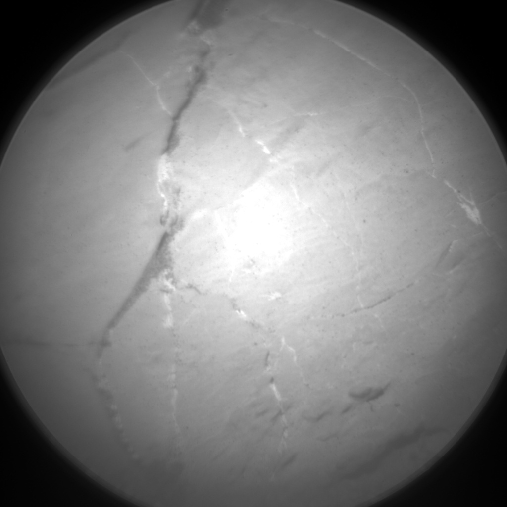Nasa's Mars rover Curiosity acquired this image using its Chemistry & Camera (ChemCam) on Sol 1872, at drive 2414, site number 66