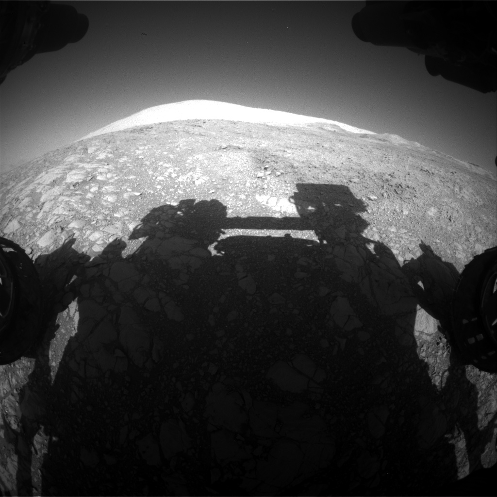 Nasa's Mars rover Curiosity acquired this image using its Front Hazard Avoidance Camera (Front Hazcam) on Sol 1872, at drive 2414, site number 66