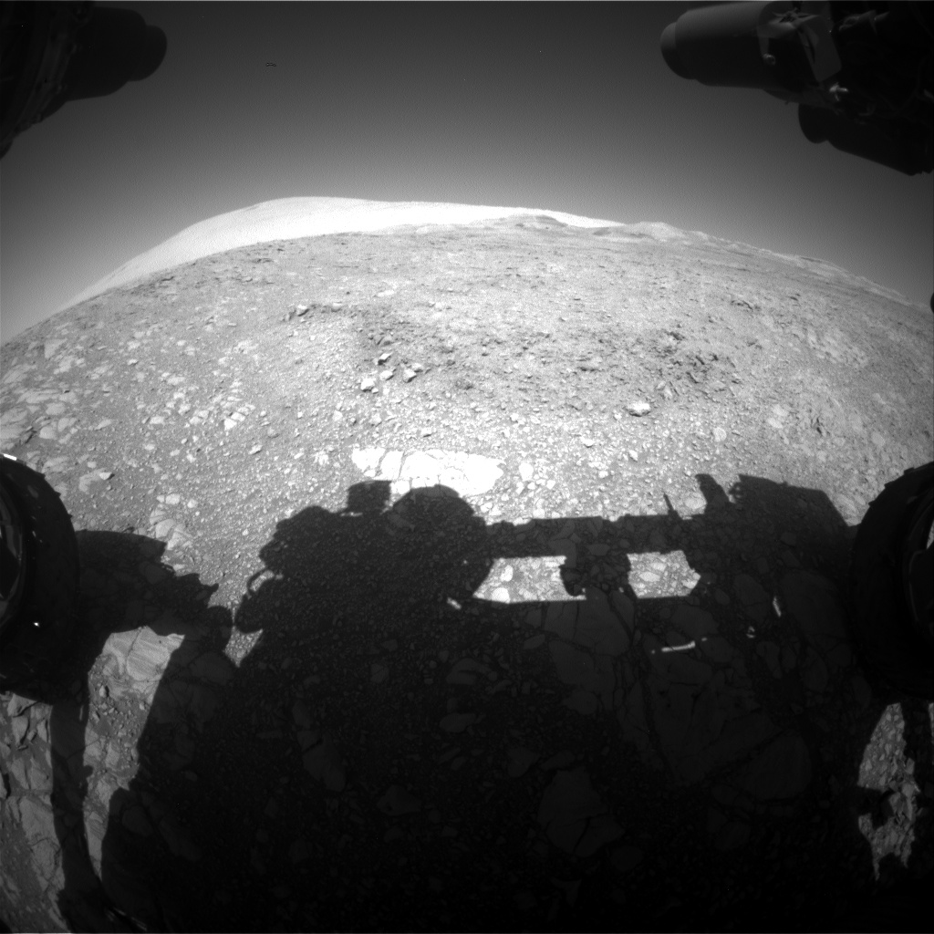 Nasa's Mars rover Curiosity acquired this image using its Front Hazard Avoidance Camera (Front Hazcam) on Sol 1873, at drive 2430, site number 66