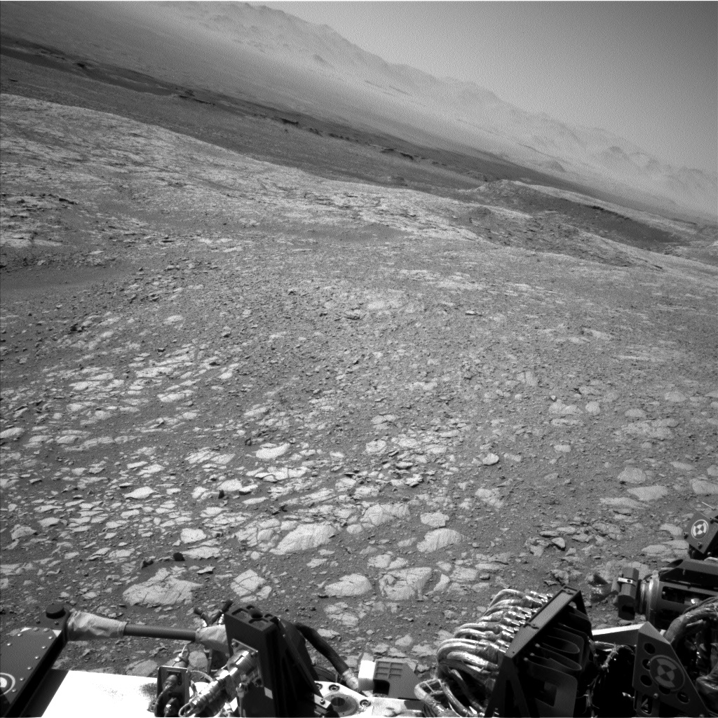 Nasa's Mars rover Curiosity acquired this image using its Left Navigation Camera on Sol 1873, at drive 2430, site number 66