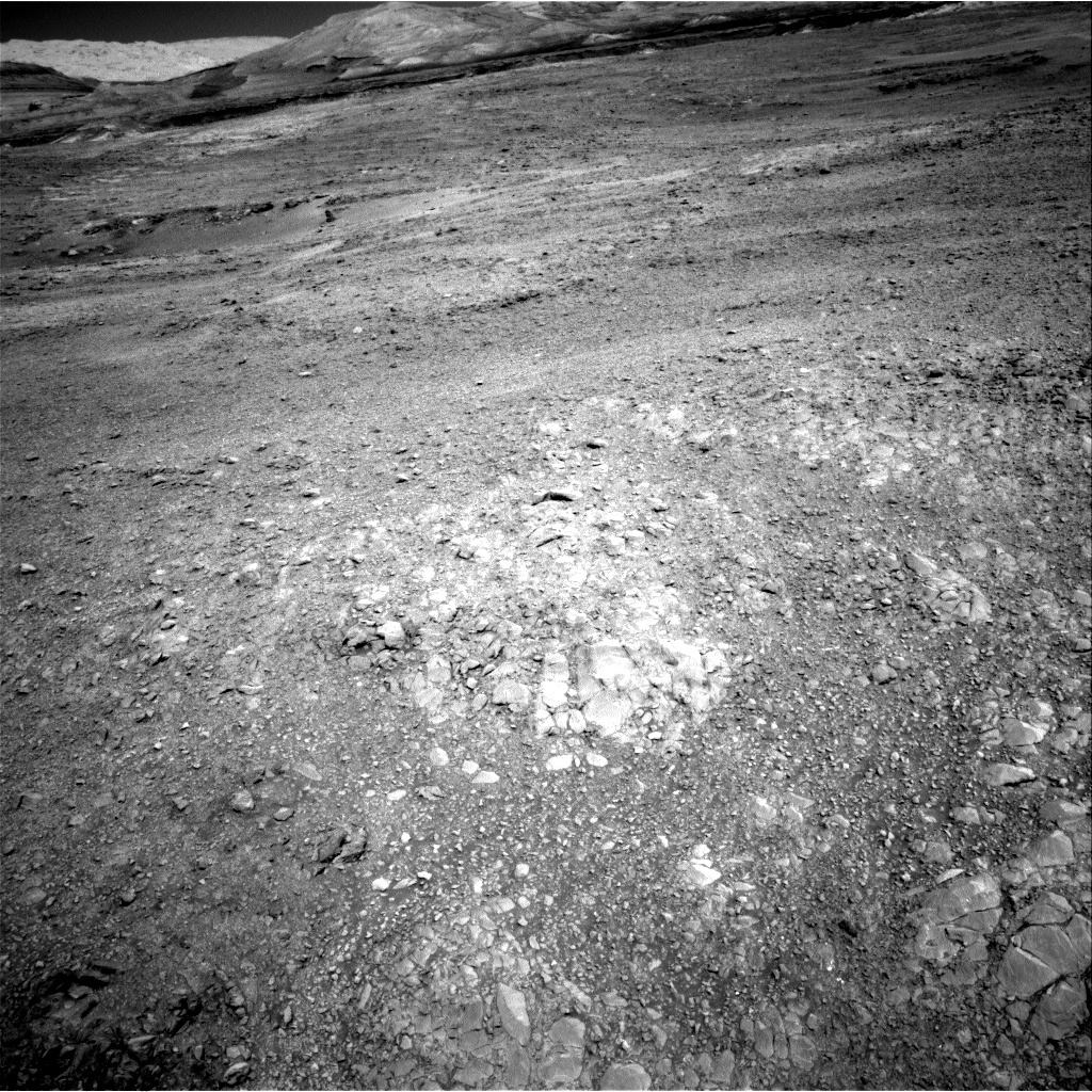 NASA's Mars rover Curiosity acquired this image using its Right Navigation Cameras (Navcams) on Sol 1873