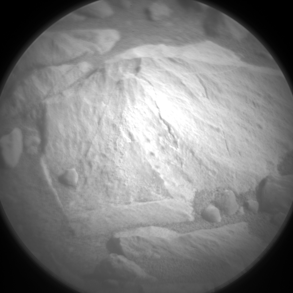 Nasa's Mars rover Curiosity acquired this image using its Chemistry & Camera (ChemCam) on Sol 1874, at drive 2430, site number 66