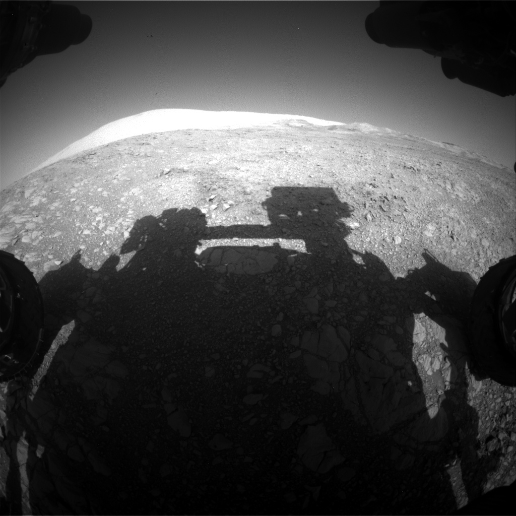 Nasa's Mars rover Curiosity acquired this image using its Front Hazard Avoidance Camera (Front Hazcam) on Sol 1874, at drive 2430, site number 66