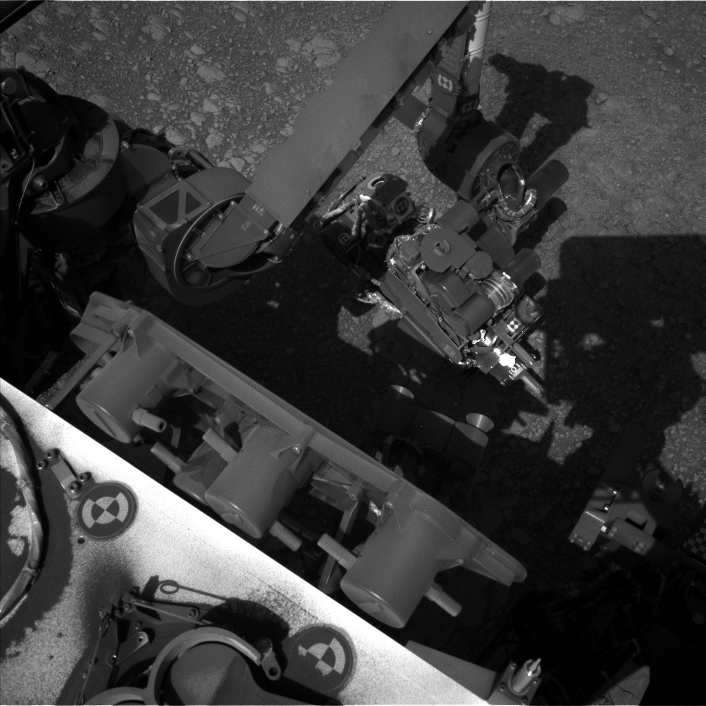 NASA's Mars rover Curiosity acquired this image using its Left Navigation Camera (Navcams) on Sol 1875