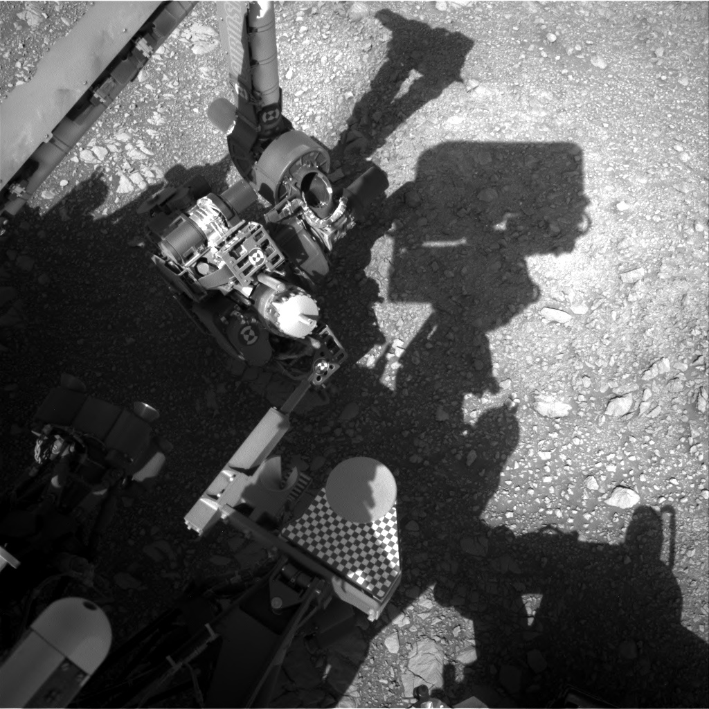 Nasa's Mars rover Curiosity acquired this image using its Right Navigation Camera on Sol 1875, at drive 2430, site number 66