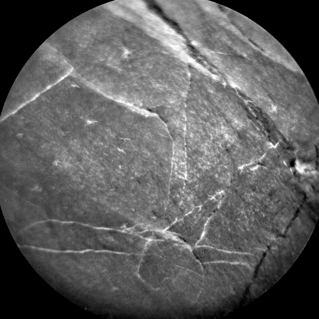 Nasa's Mars rover Curiosity acquired this image using its Chemistry & Camera (ChemCam) on Sol 1875, at drive 2430, site number 66