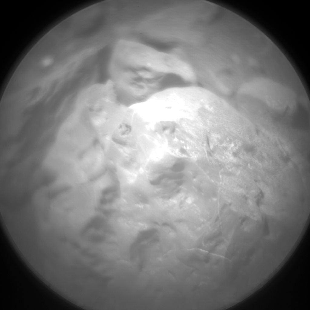 Nasa's Mars rover Curiosity acquired this image using its Chemistry & Camera (ChemCam) on Sol 1877, at drive 2430, site number 66