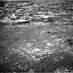 Nasa's Mars rover Curiosity acquired this image using its Left Navigation Camera on Sol 1877, at drive 2496, site number 66
