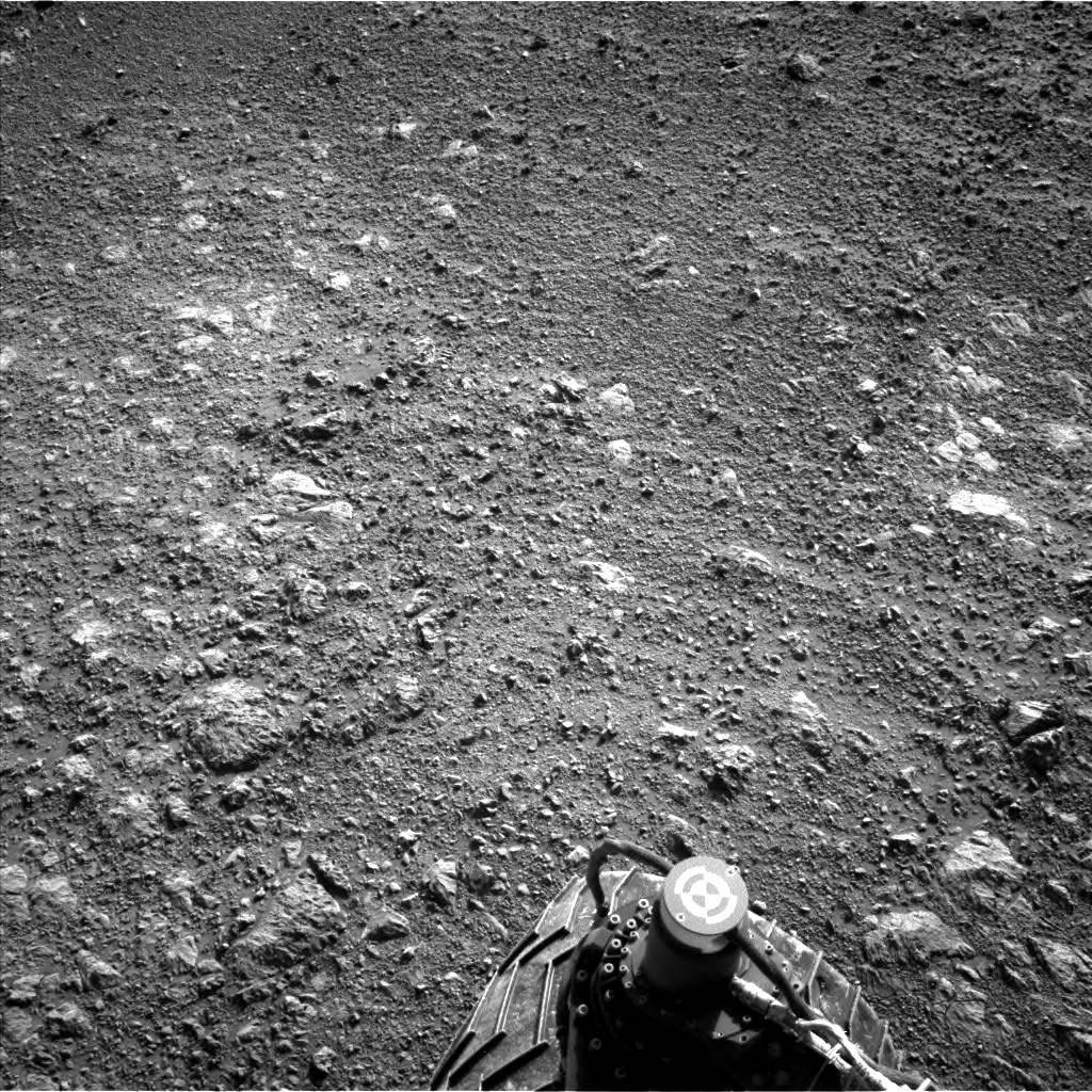 NASA's Mars rover Curiosity acquired this image using its Left Navigation Camera (Navcams) on Sol 1877