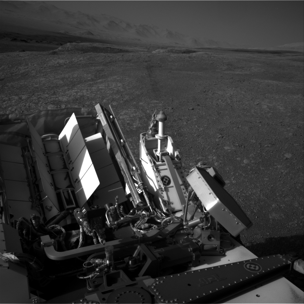 Nasa's Mars rover Curiosity acquired this image using its Right Navigation Camera on Sol 1877, at drive 0, site number 67