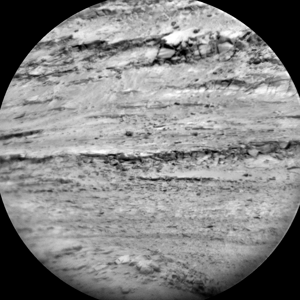 Nasa's Mars rover Curiosity acquired this image using its Chemistry & Camera (ChemCam) on Sol 1878, at drive 0, site number 67