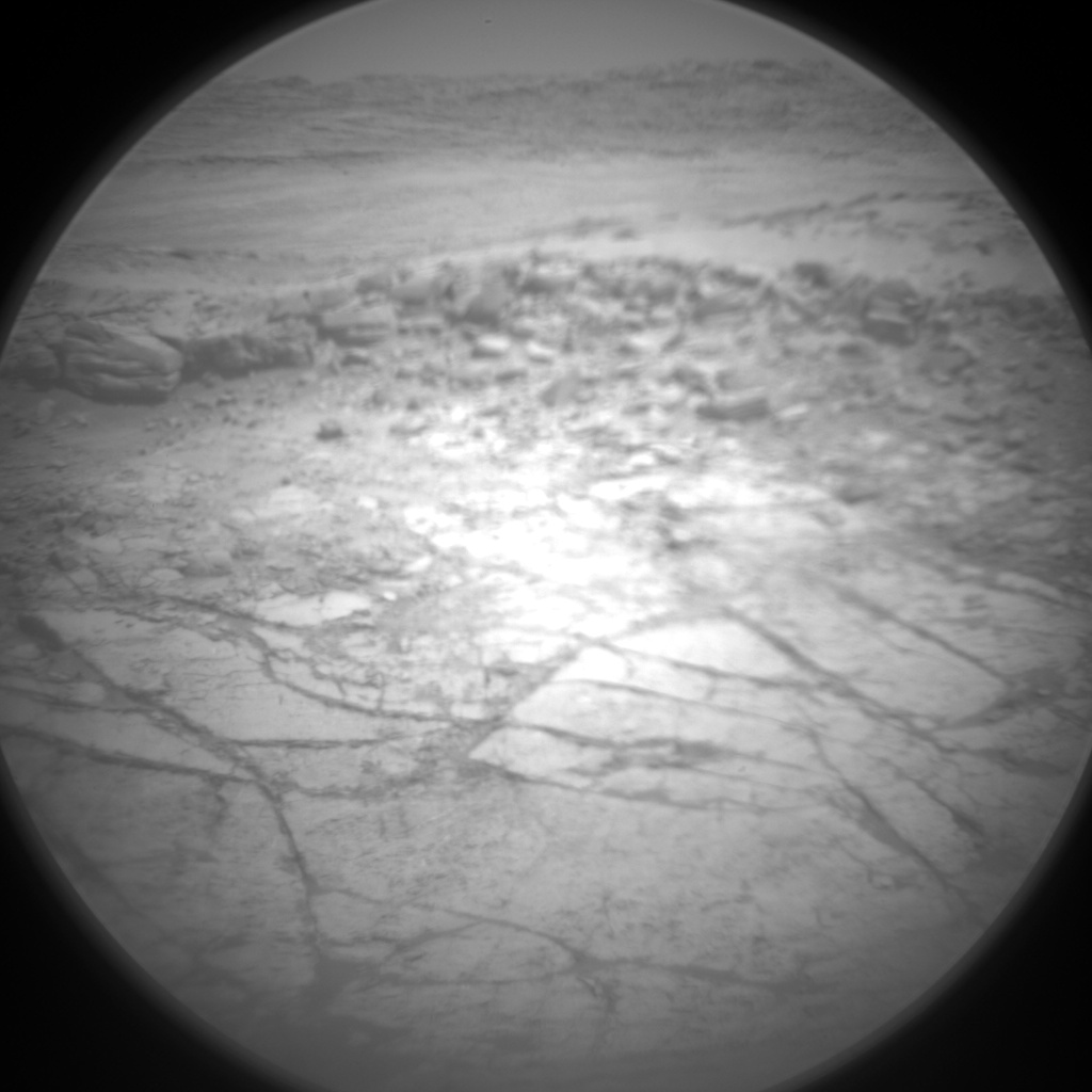 Nasa's Mars rover Curiosity acquired this image using its Chemistry & Camera (ChemCam) on Sol 1879, at drive 0, site number 67