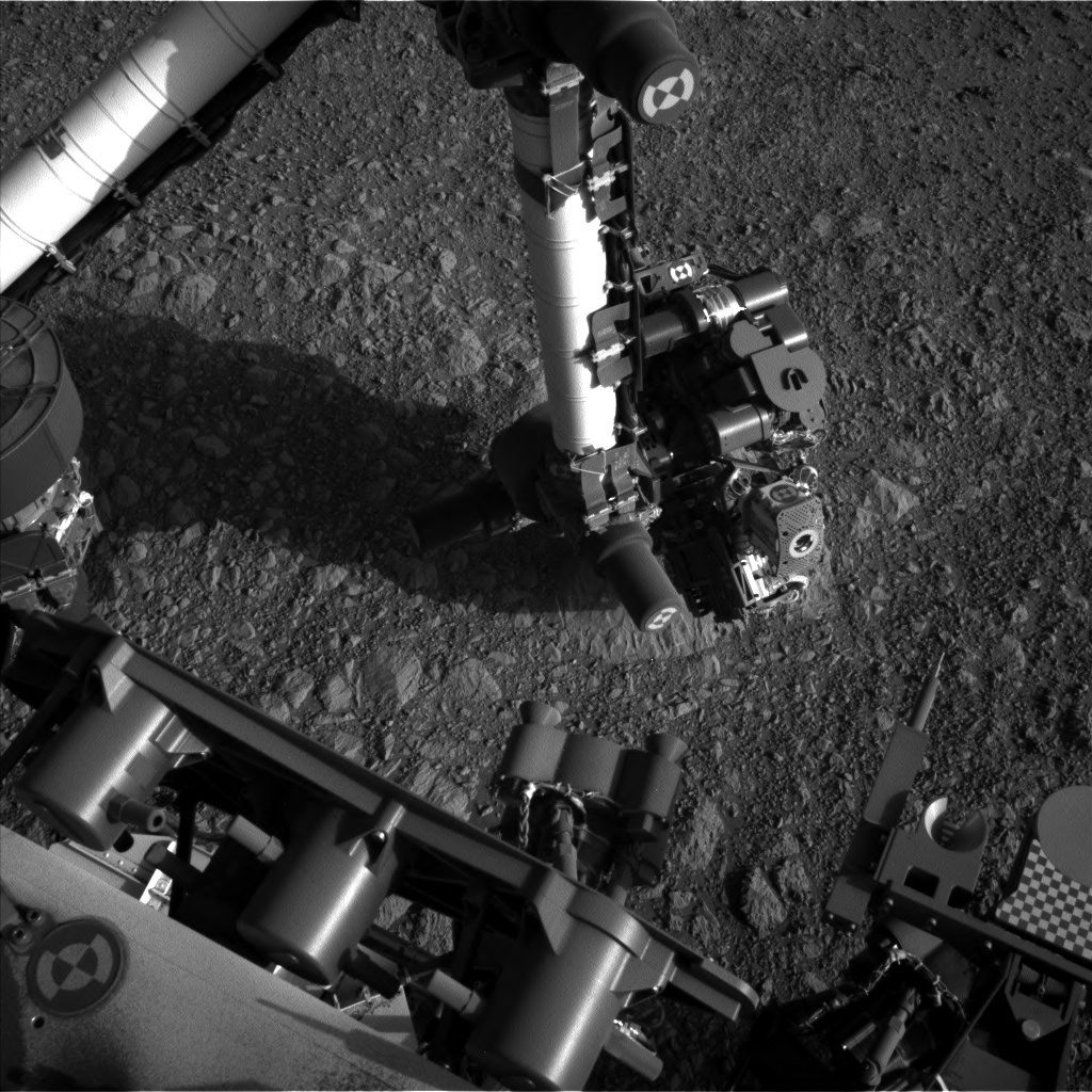 Nasa's Mars rover Curiosity acquired this image using its Left Navigation Camera on Sol 1879, at drive 0, site number 67