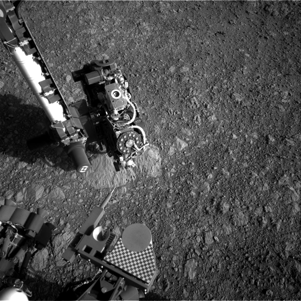 Nasa's Mars rover Curiosity acquired this image using its Right Navigation Camera on Sol 1879, at drive 0, site number 67