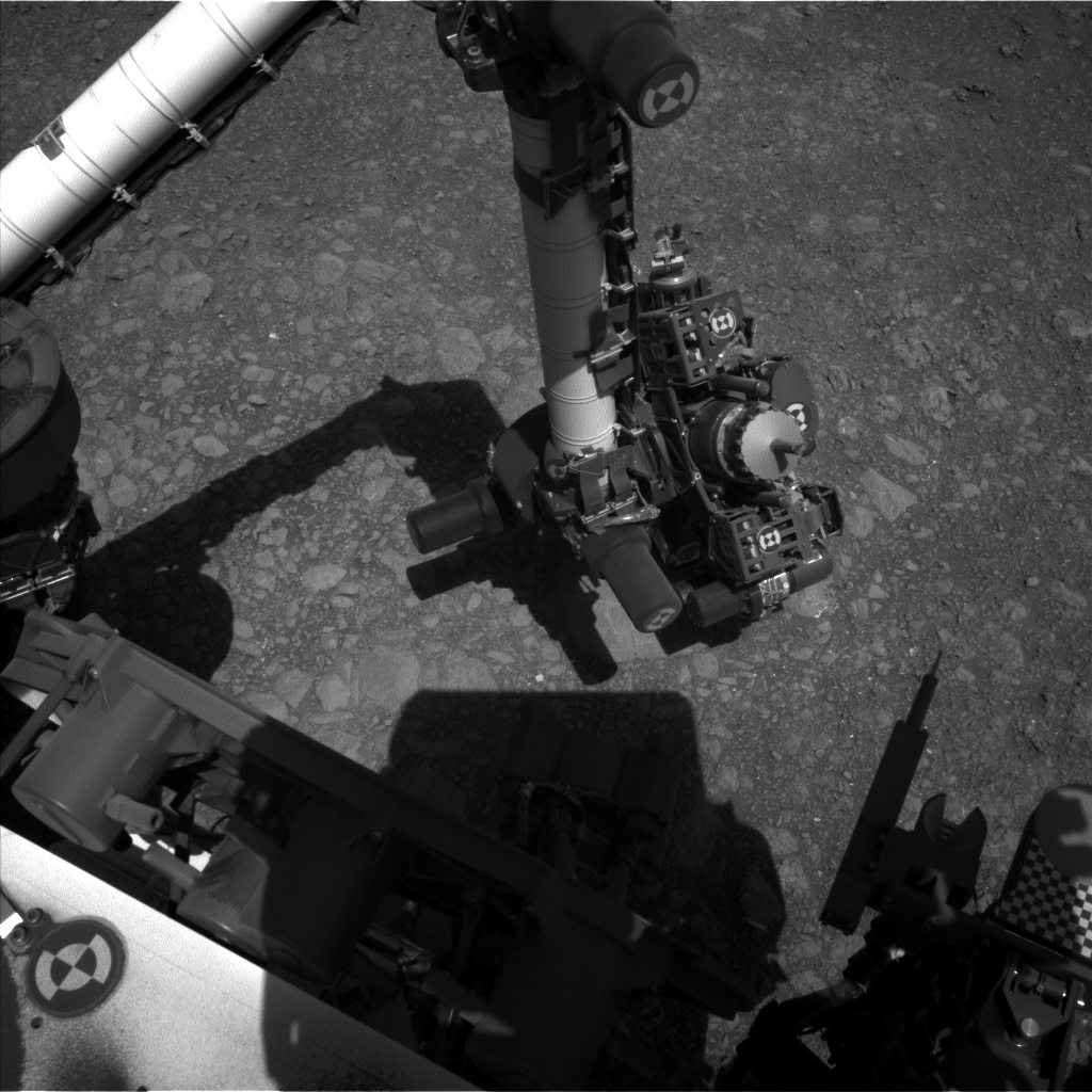 Nasa's Mars rover Curiosity acquired this image using its Left Navigation Camera on Sol 1881, at drive 0, site number 67