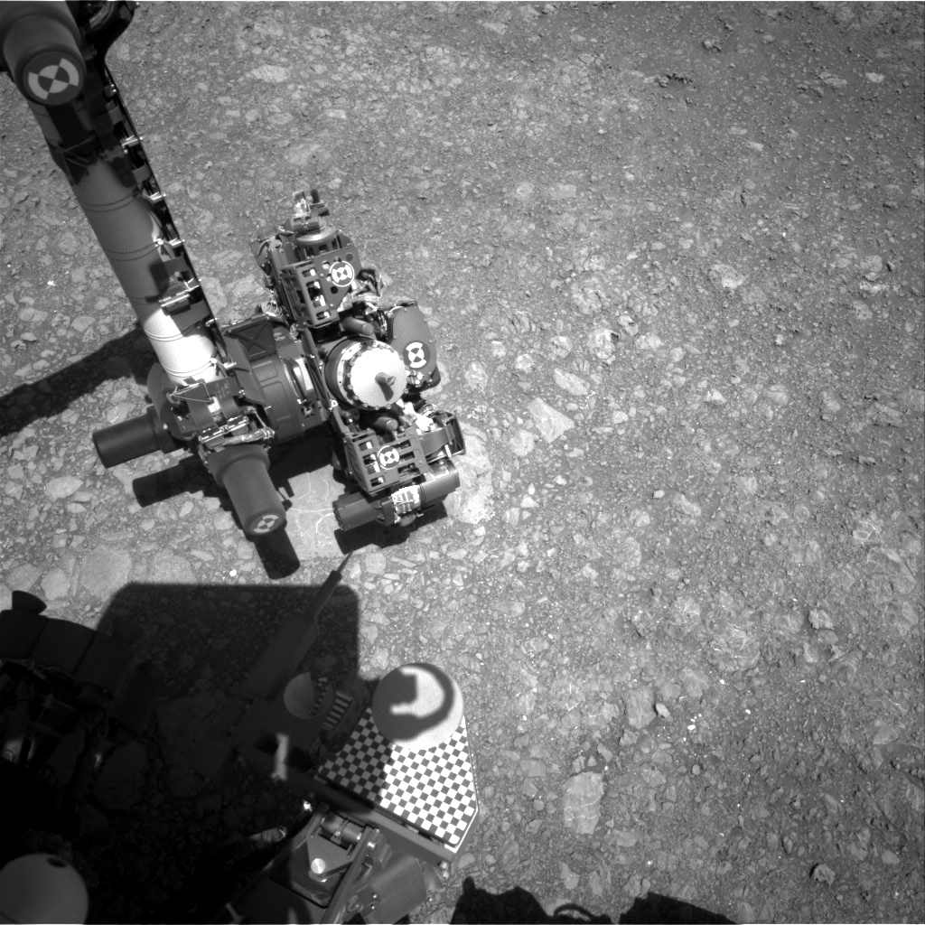 Nasa's Mars rover Curiosity acquired this image using its Right Navigation Camera on Sol 1881, at drive 0, site number 67