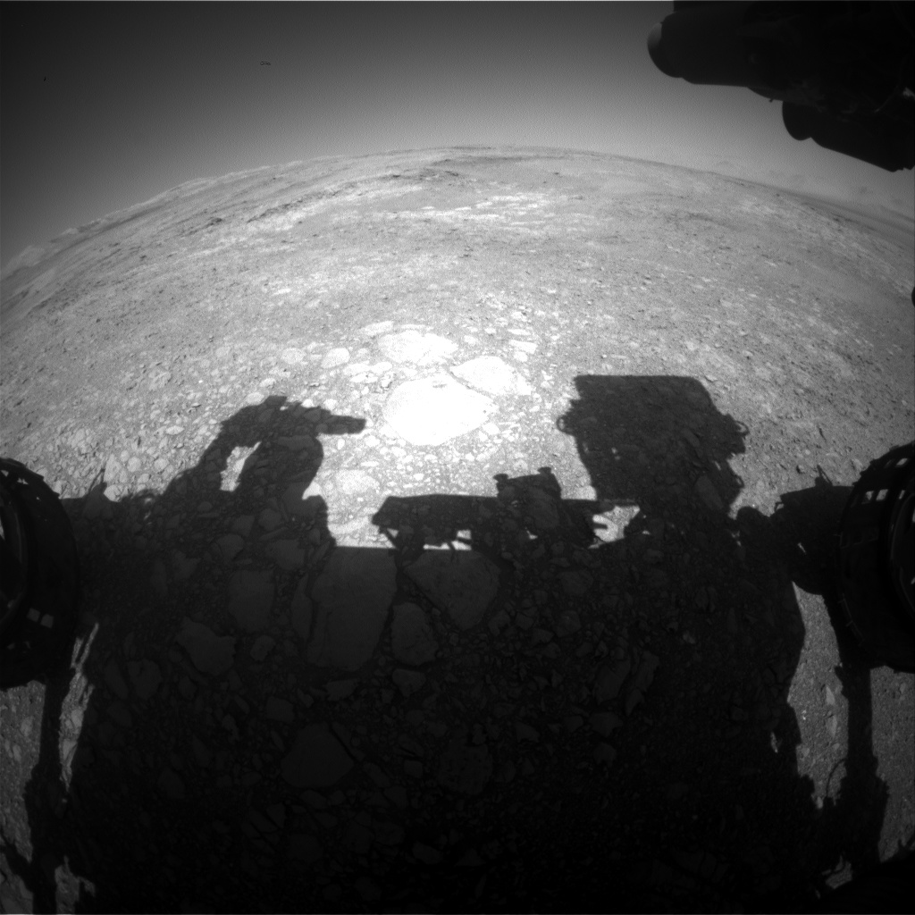 Nasa's Mars rover Curiosity acquired this image using its Front Hazard Avoidance Camera (Front Hazcam) on Sol 1884, at drive 0, site number 67