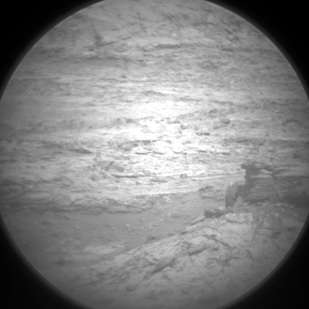 Nasa's Mars rover Curiosity acquired this image using its Chemistry & Camera (ChemCam) on Sol 1885, at drive 0, site number 67