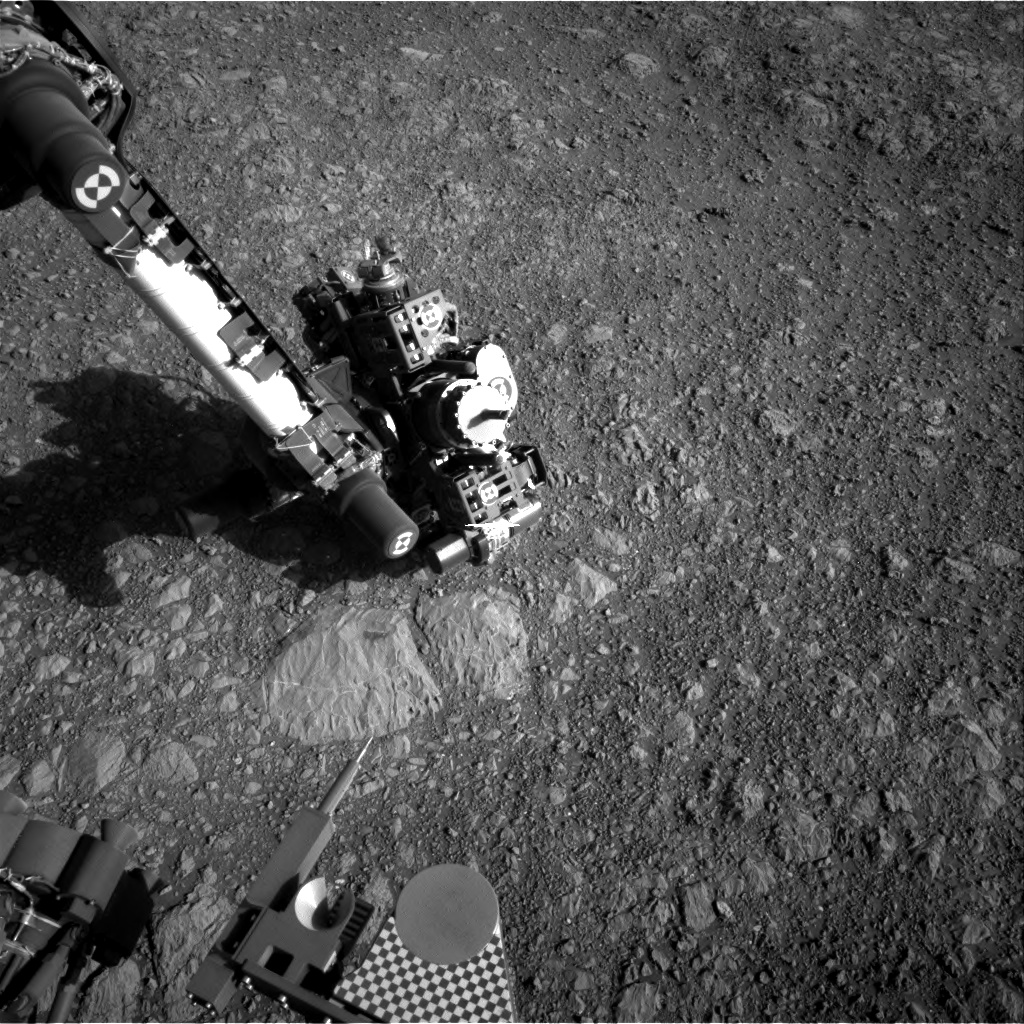 Nasa's Mars rover Curiosity acquired this image using its Right Navigation Camera on Sol 1885, at drive 0, site number 67