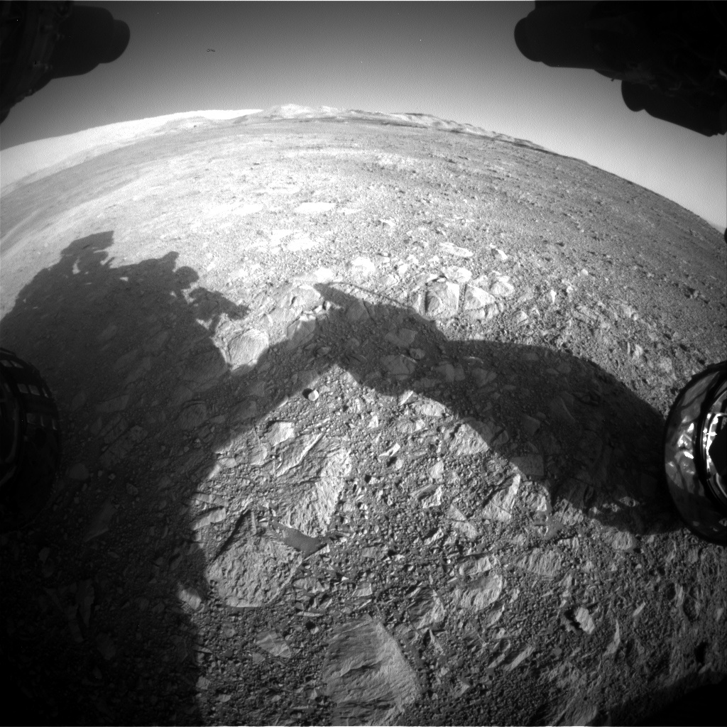 Nasa's Mars rover Curiosity acquired this image using its Front Hazard Avoidance Camera (Front Hazcam) on Sol 1887, at drive 216, site number 67
