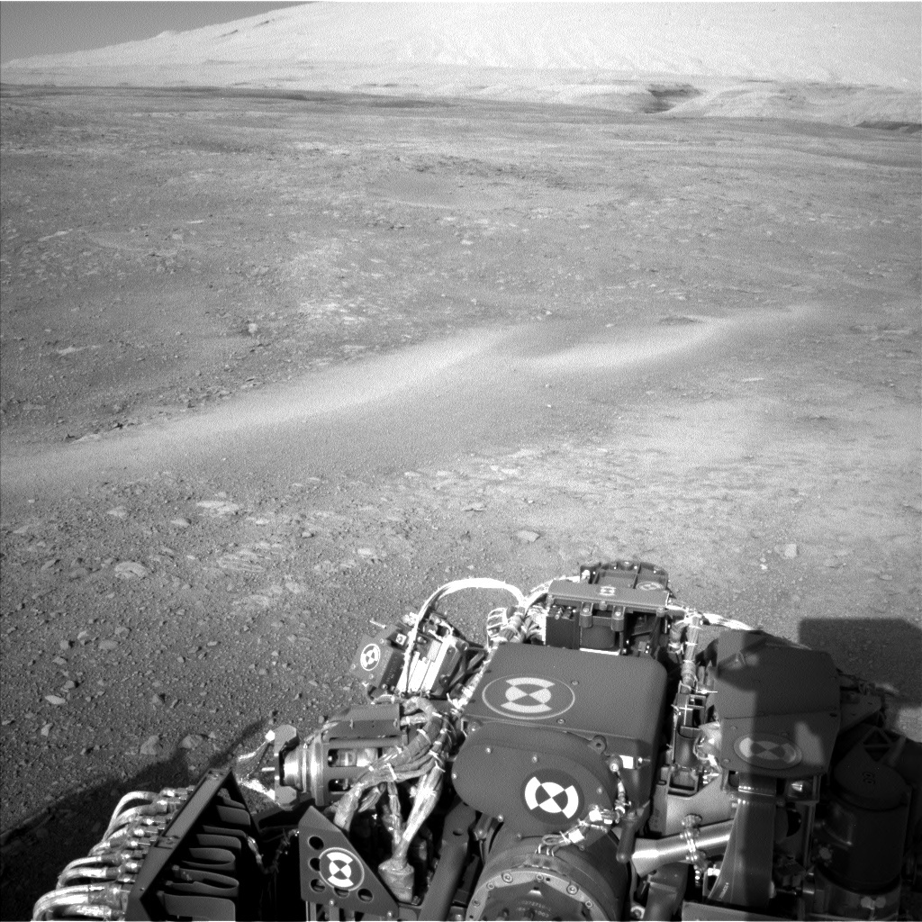 NASA's Mars rover Curiosity acquired this image using its Left Navigation Camera (Navcams) on Sol 1887