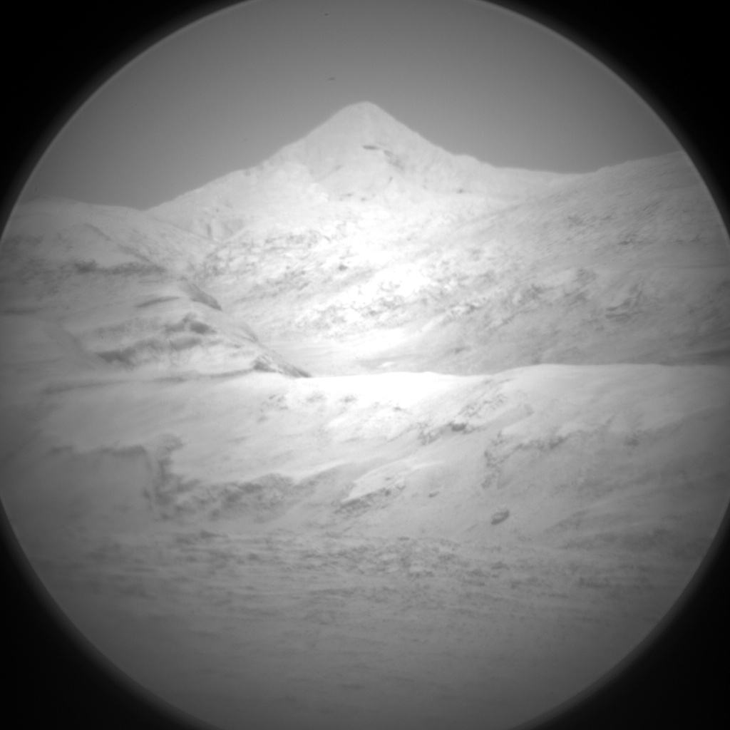 Nasa's Mars rover Curiosity acquired this image using its Chemistry & Camera (ChemCam) on Sol 1888, at drive 216, site number 67