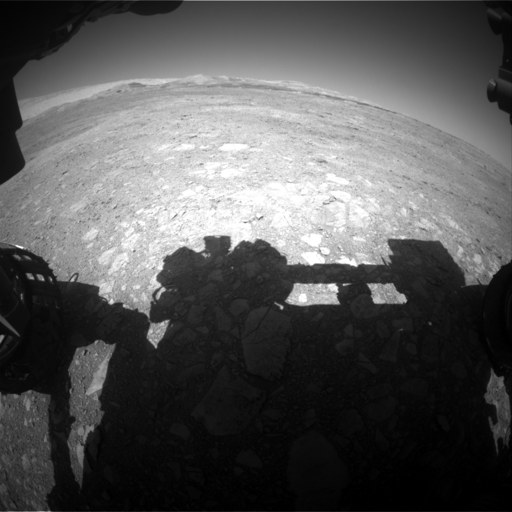 Nasa's Mars rover Curiosity acquired this image using its Front Hazard Avoidance Camera (Front Hazcam) on Sol 1888, at drive 216, site number 67