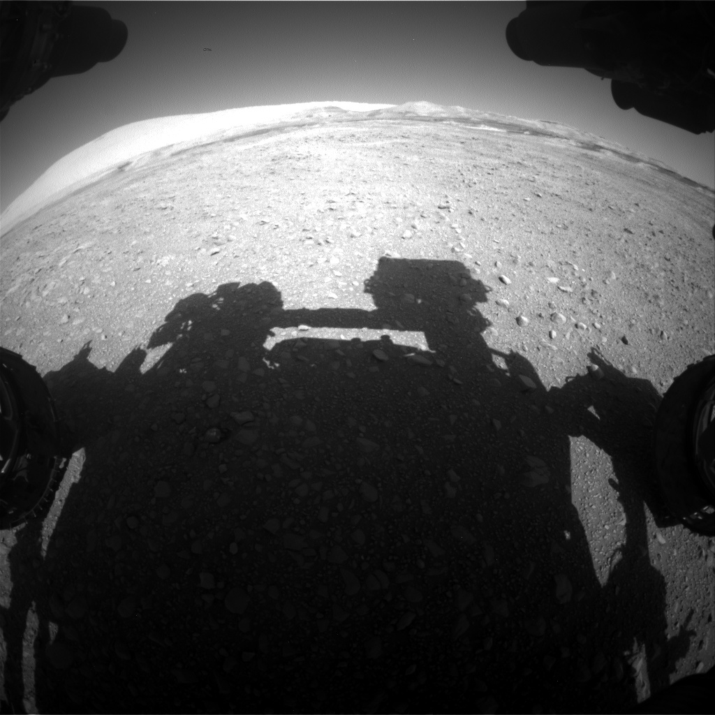 Nasa's Mars rover Curiosity acquired this image using its Front Hazard Avoidance Camera (Front Hazcam) on Sol 1889, at drive 490, site number 67
