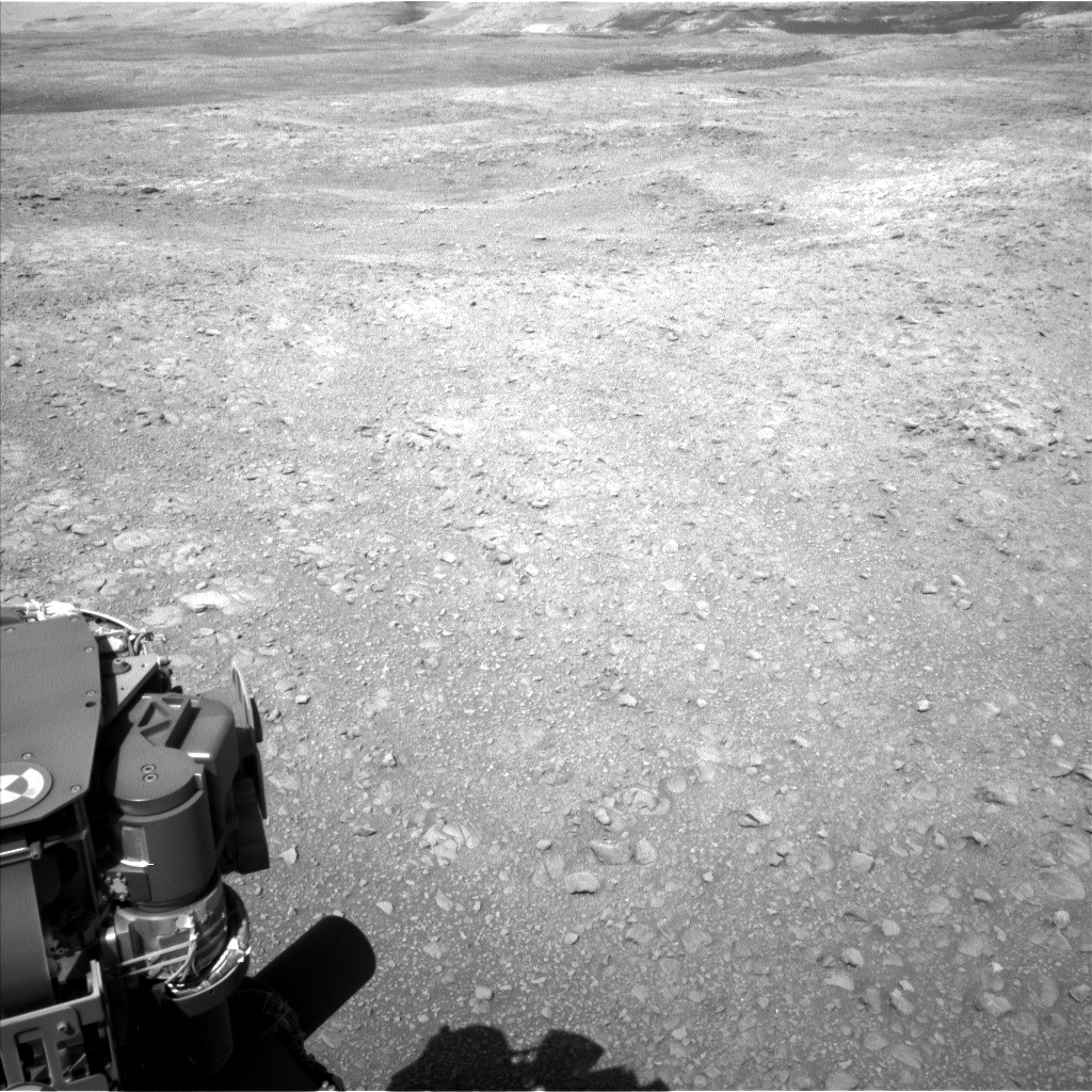 Nasa's Mars rover Curiosity acquired this image using its Left Navigation Camera on Sol 1889, at drive 490, site number 67