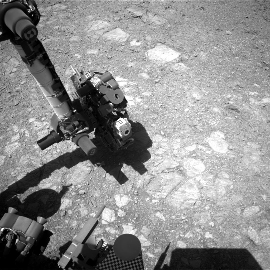 Nasa's Mars rover Curiosity acquired this image using its Right Navigation Camera on Sol 1889, at drive 216, site number 67