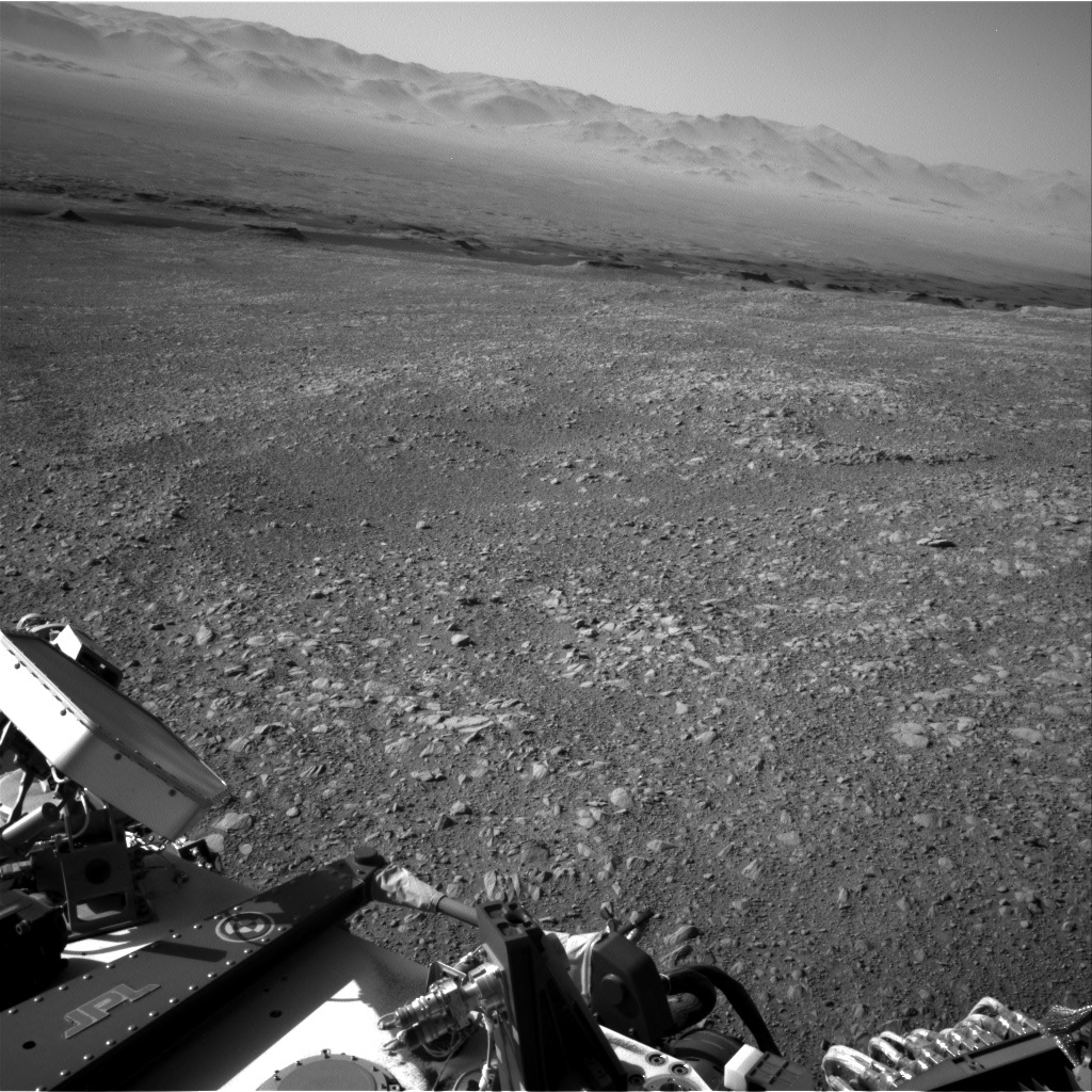 NASA's Mars rover Curiosity acquired this image using its Right Navigation Cameras (Navcams) on Sol 1889
