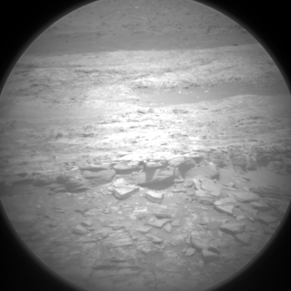 Nasa's Mars rover Curiosity acquired this image using its Chemistry & Camera (ChemCam) on Sol 1890, at drive 490, site number 67