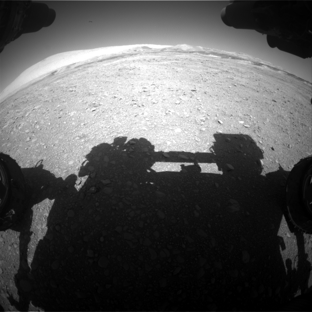 Nasa's Mars rover Curiosity acquired this image using its Front Hazard Avoidance Camera (Front Hazcam) on Sol 1890, at drive 490, site number 67