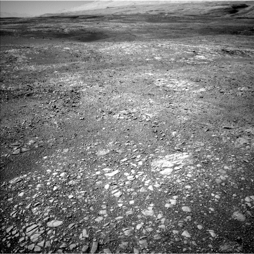 NASA's Mars rover Curiosity acquired this image using its Left Navigation Camera (Navcams) on Sol 1891