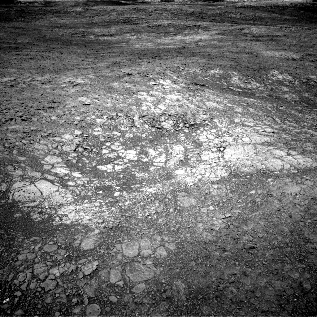 Nasa's Mars rover Curiosity acquired this image using its Left Navigation Camera on Sol 1891, at drive 604, site number 67