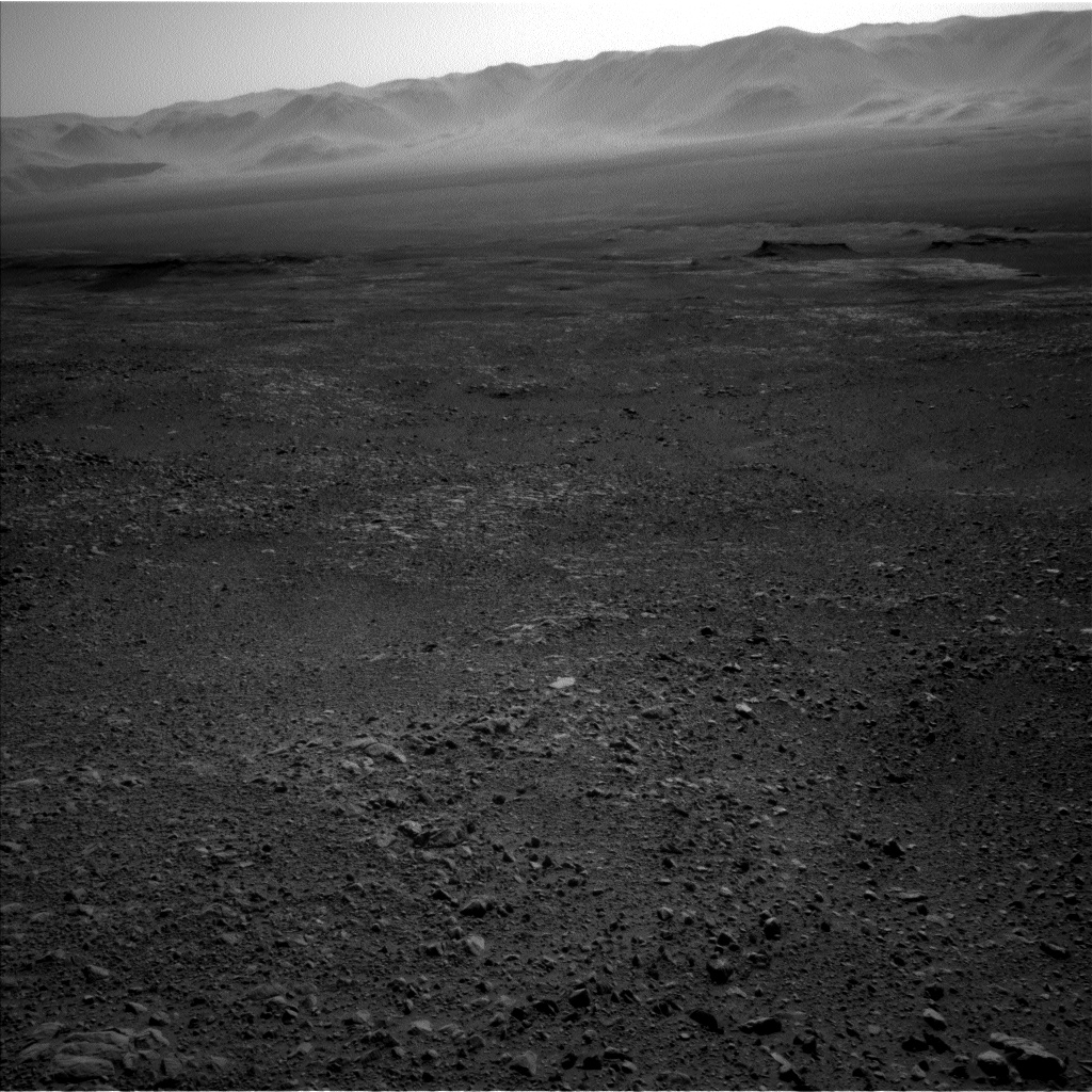 Nasa's Mars rover Curiosity acquired this image using its Left Navigation Camera on Sol 1891, at drive 650, site number 67