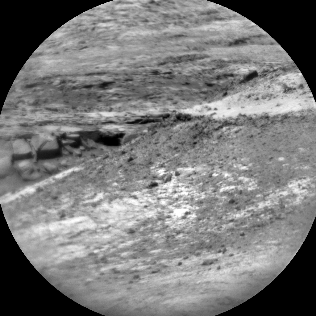 Nasa's Mars rover Curiosity acquired this image using its Chemistry & Camera (ChemCam) on Sol 1891, at drive 490, site number 67