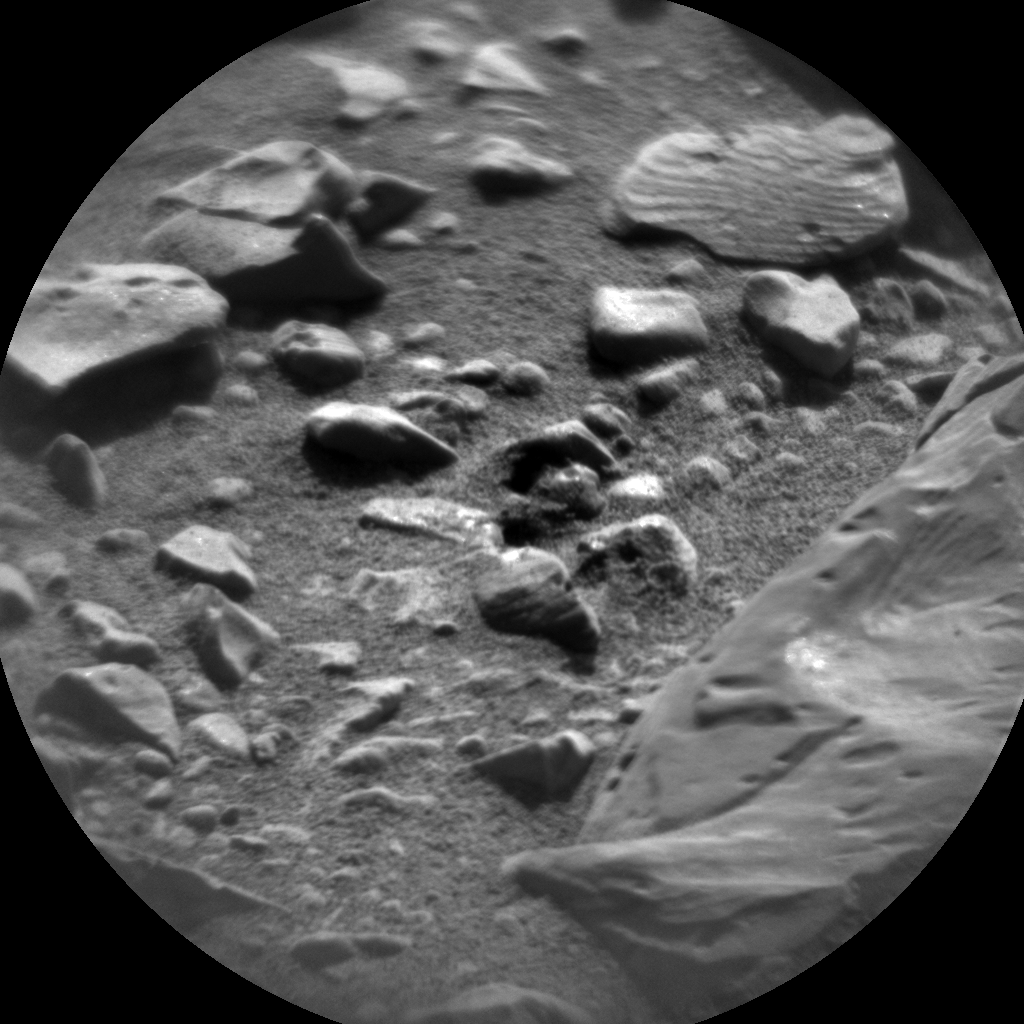 Nasa's Mars rover Curiosity acquired this image using its Chemistry & Camera (ChemCam) on Sol 1891, at drive 650, site number 67