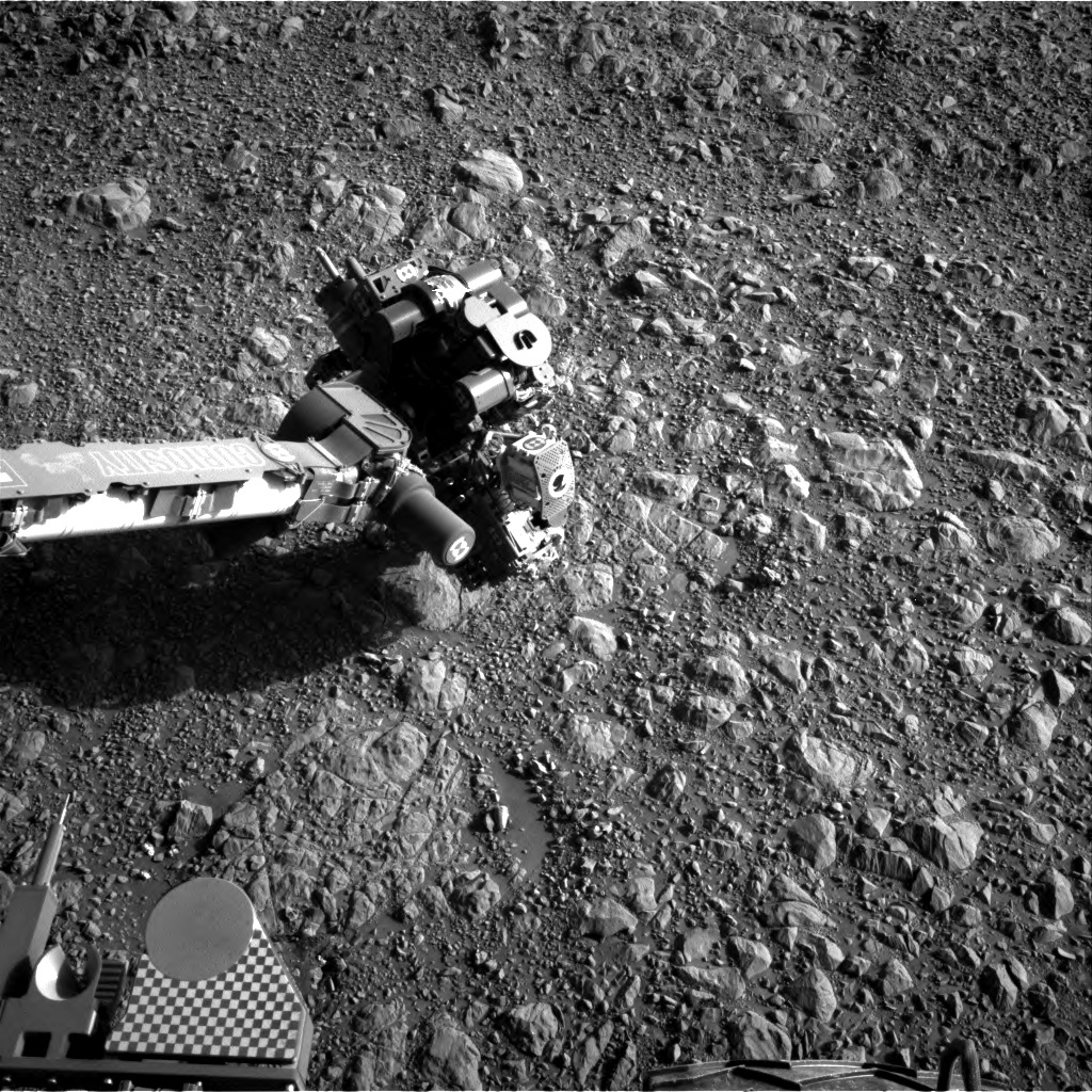 NASA's Mars rover Curiosity acquired this image using its Right Navigation Cameras (Navcams) on Sol 1892