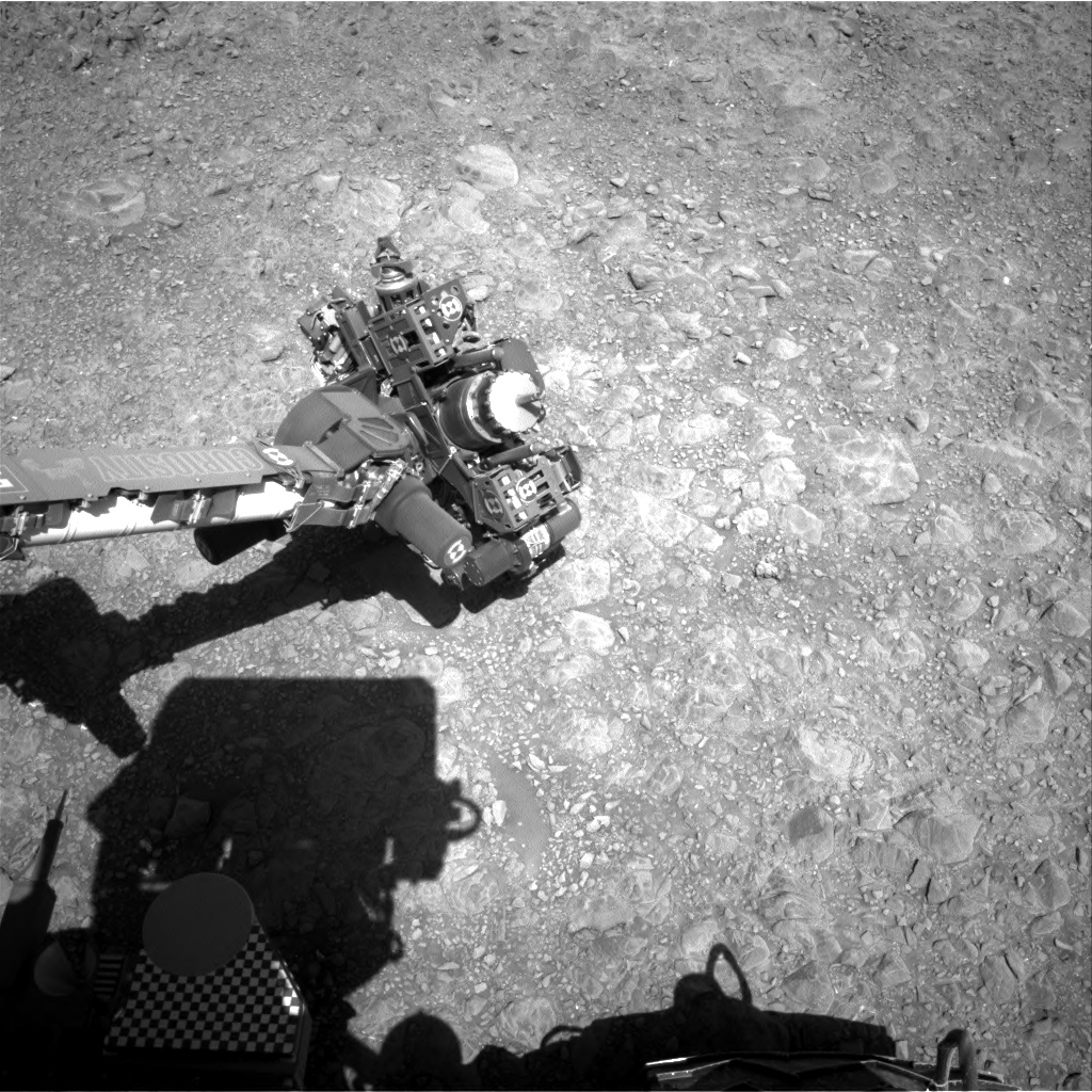Nasa's Mars rover Curiosity acquired this image using its Right Navigation Camera on Sol 1893, at drive 650, site number 67