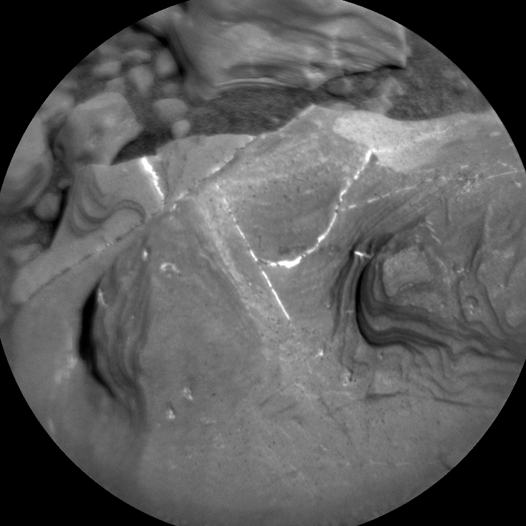 Nasa's Mars rover Curiosity acquired this image using its Chemistry & Camera (ChemCam) on Sol 1893, at drive 650, site number 67
