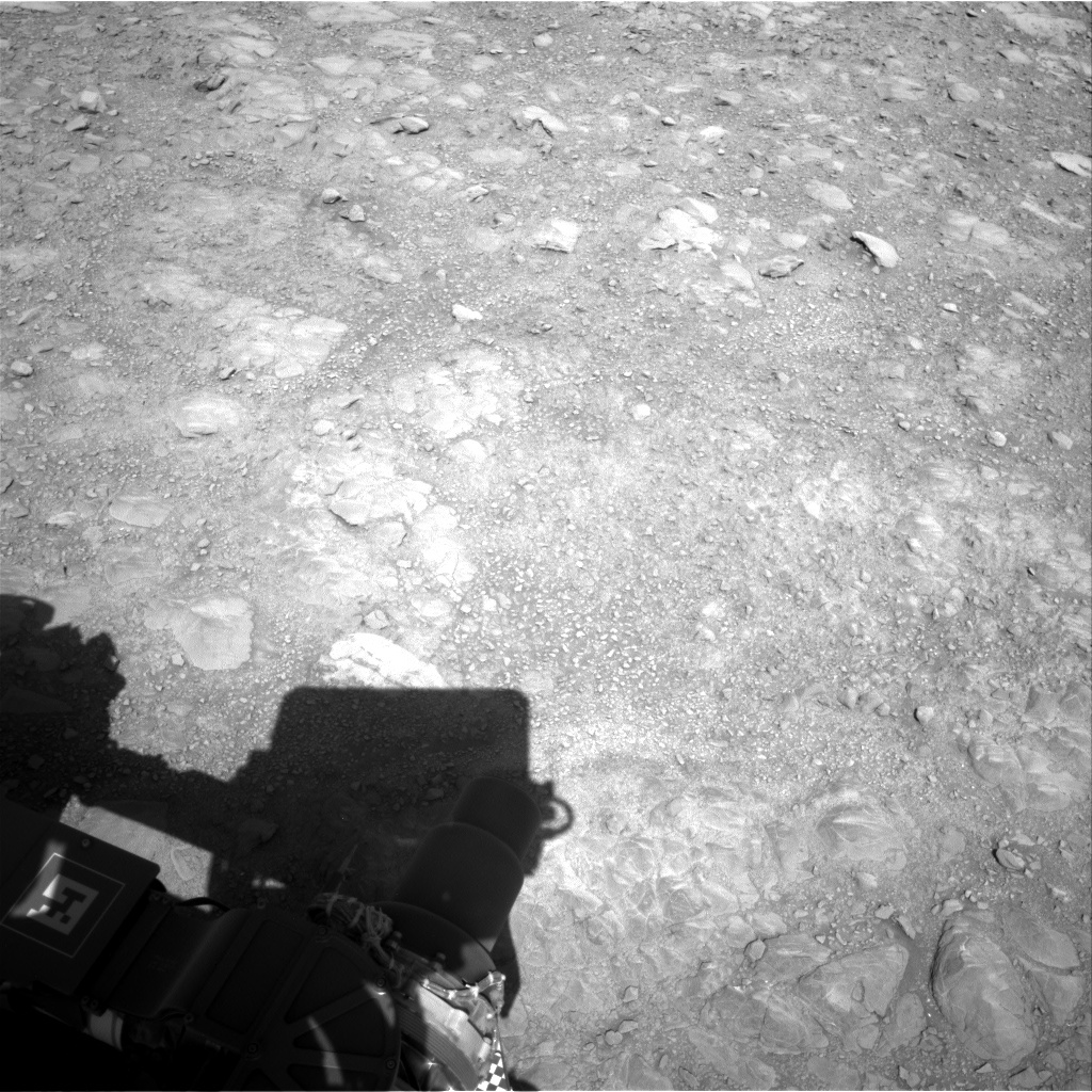 NASA's Mars rover Curiosity acquired this image using its Right Navigation Cameras (Navcams) on Sol 1894