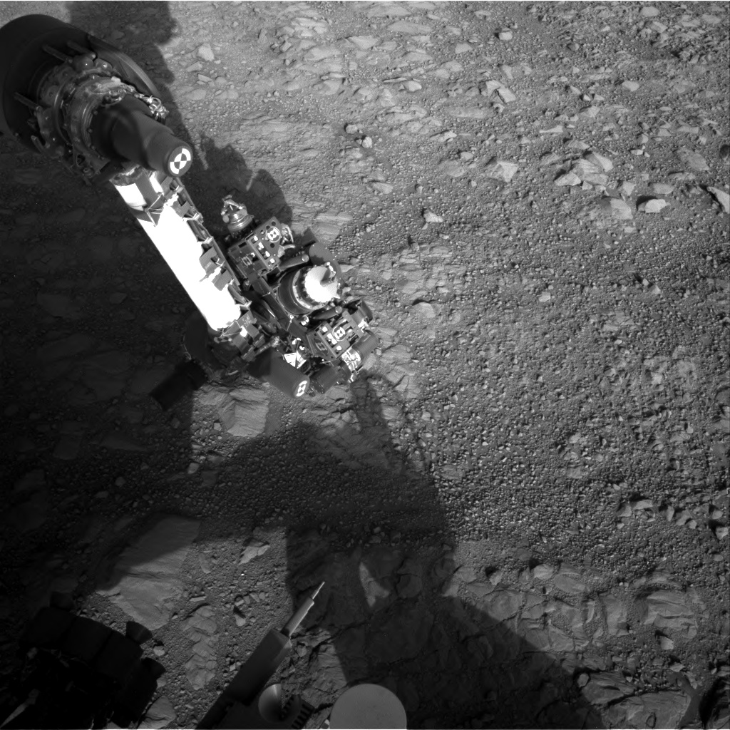 Nasa's Mars rover Curiosity acquired this image using its Right Navigation Camera on Sol 1895, at drive 806, site number 67